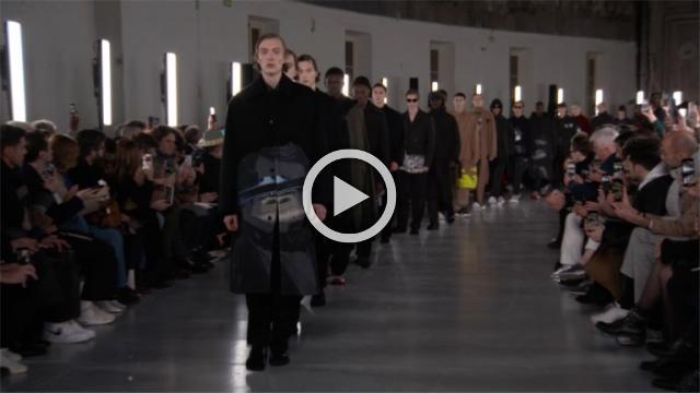 Valentino: Men's Autumn/Winter 2019/2020 Show in Paris