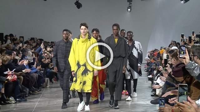Issey Miyake Men: Men's Autumn/Winter 2019/2020 Show in Paris