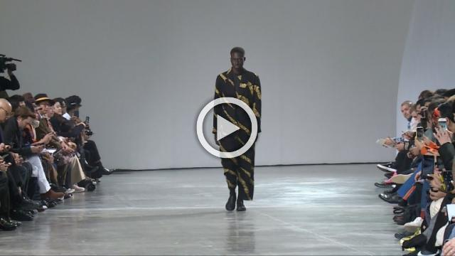 Issey Miyake Men: Men's Autumn/Winter 2019/2020 Show in Paris (with interview)