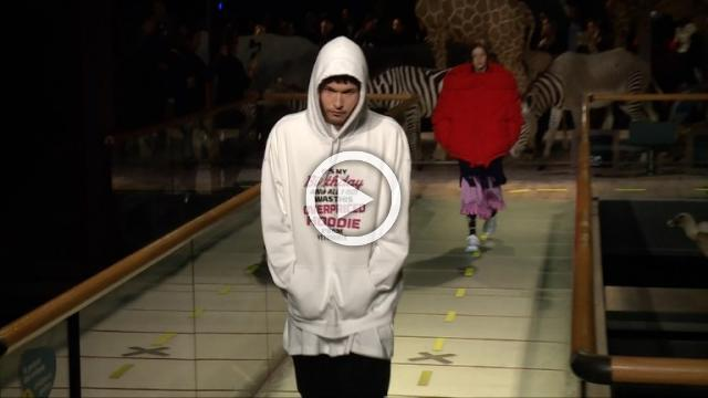 Vetements: Men's & Women's Autumn/Winter 2019/2020 Show in Paris