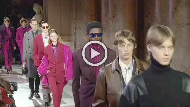 Berluti: Men's Autumn/Winter 2019/2020 Show in Paris