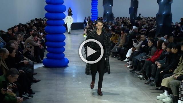 Cerruti 1881: Men's Autumn/Winter 2019/2020 Show in Paris (with interview)