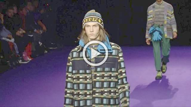 Kenzo : Men's and Women's Autumn/Winter 2019/2020 Show in Paris (with interviews)