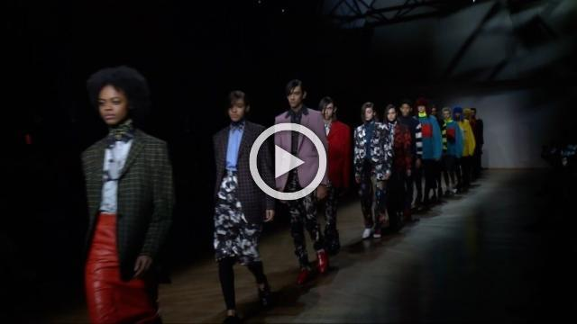 Paul Smith: Men's & Women's Autumn/Winter 2019/2020 Show in Paris (with interview)
