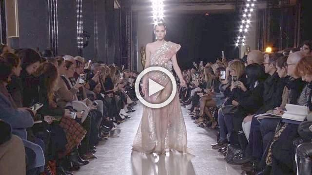 Elie Saab - Haute Couture Spring/Summer 2019 Show in Paris (with interview)