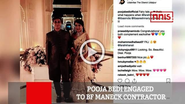 Pooja Bedi Engaged To Bf Maneck Contractor