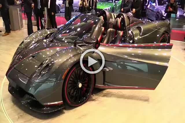 Pagani Huayra Roadster Exterior and Interior Walkaround Part I