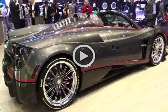 Pagani Huayra Roadster Exterior and Interior Walkaround Part II