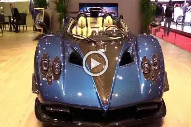 Pagani Zonda HP Barchetta Turnaround Part II
