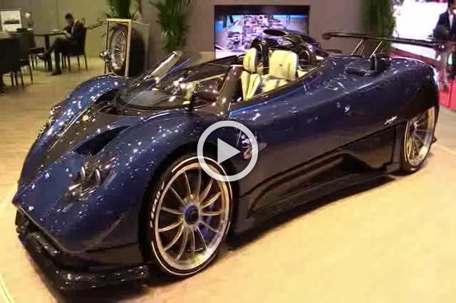 Pagani Zonda HP Barchetta Turnaround Part I