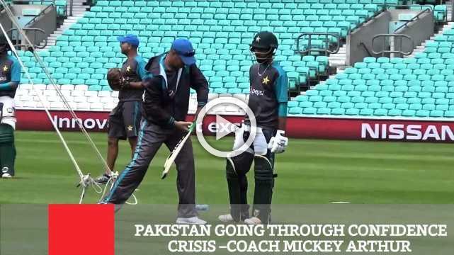 Pakistan Going Through Confidence Crisis –Coach Mickey Arthur