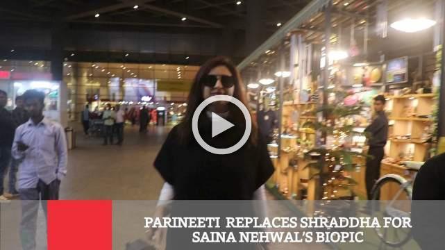 Parineeti  Replaces Shraddha For Saina Nehwal's Biopic