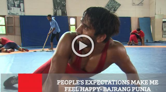 People's Expectations Make Me Feel Happy -Bajrang Punia