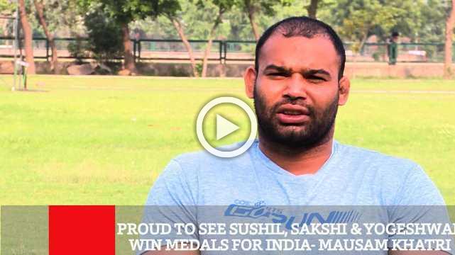 Proud To See Sushil, Sakshi & Yogeshwar Win Medals For India  Mausam Khatri