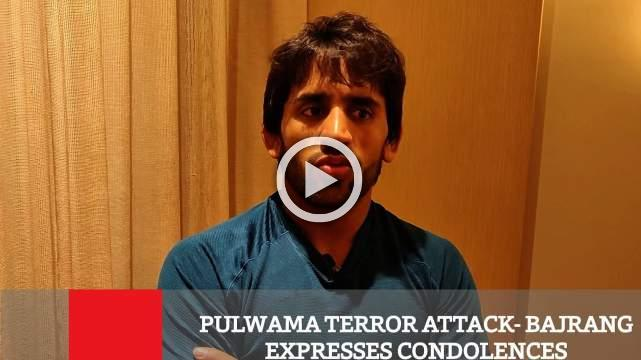 Pulwama Terror Attack- Bajrang Expresses Condolences