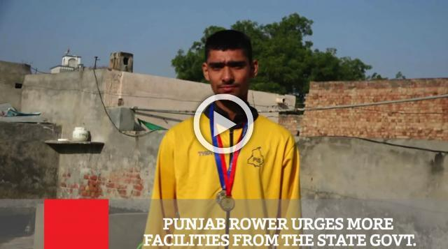 Punjab Rower Urges More Facilities From The State Govt