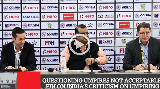 Questioning Umpires Not Acceptable- Fih On India's Criticism On Umpiring