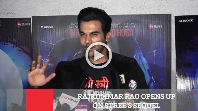 Rajkummar Rao Opens Up On Stree's Sequel