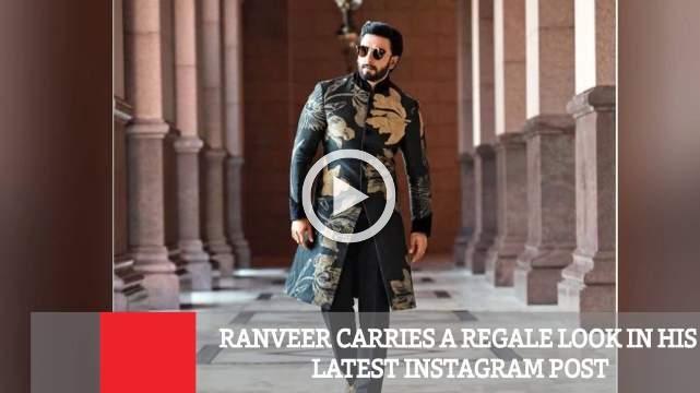 Ranveer Carries A Regale Look In His Latest Instagram Post