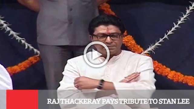 Raj Thackeray Pays Tribute To Stan Lee