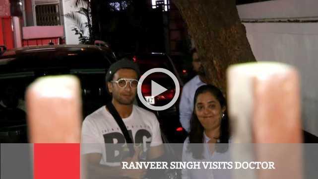Ranveer Singh Visits Doctor