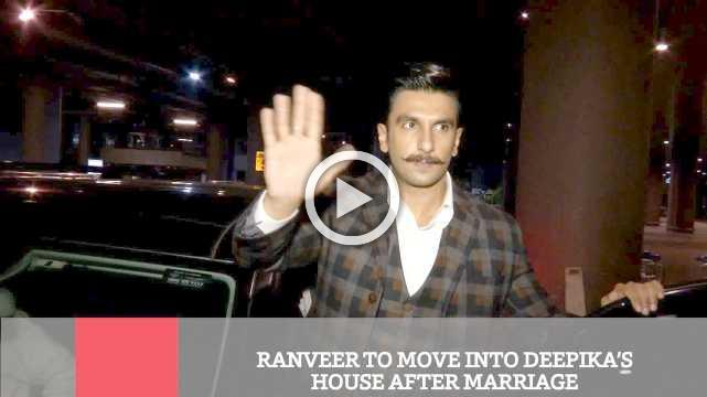 Ranveer To Move Into Deepika's House After Marriage