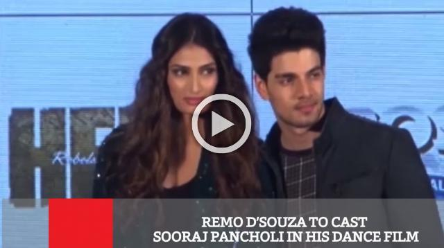 Remo D'souza To Cast Sooraj Pancholi In His Dance Film