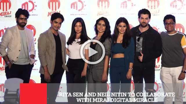 Riya Sen And Neil Nitin To Collaborate With Miraj Digital Miracle