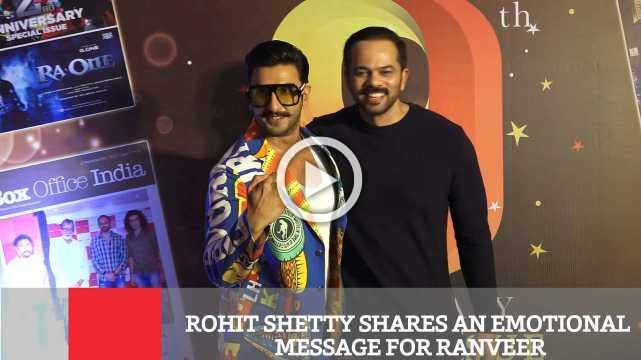 Rohit Shetty Shares An Emotional Message For Ranveer