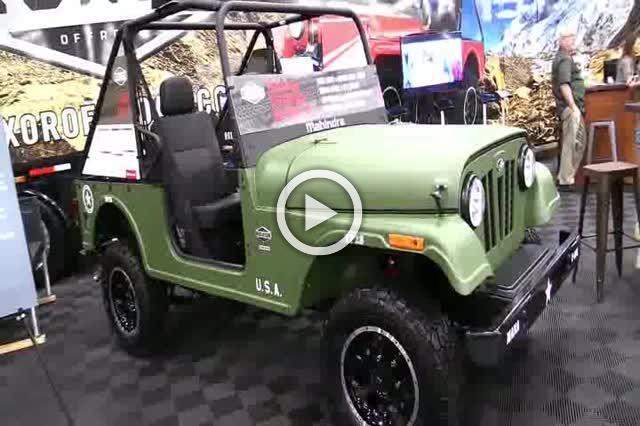 Roxor Mahindra Military Style Off Road Vehicle Walkaround Part II