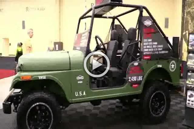Roxor Mahindra Military Style Off Road Vehicle Walkaround Part I