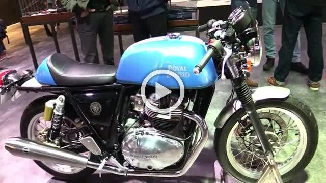 Royal Enfield Continental GT 650 Twin Walkaround 2018 Part II