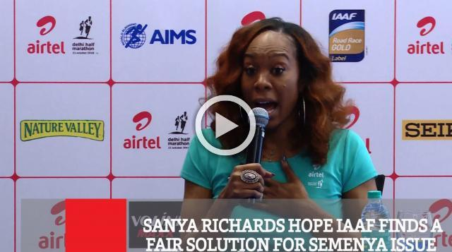 Sanya Richards Hope Iaaf Finds A Fair Solution For Semenya Issue