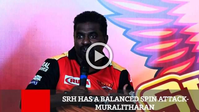 SRH Has A Balanced Spin Attack- Muralitharan