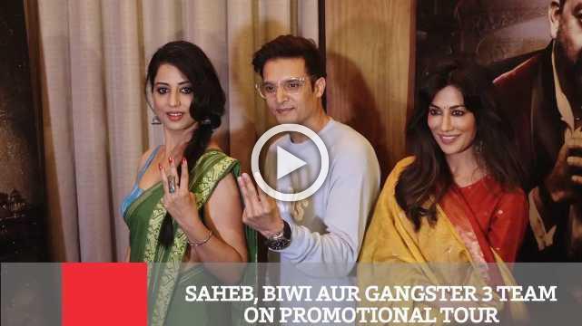 Saheb, Biwi Aur Gangster 3 Team On Promotional Tour