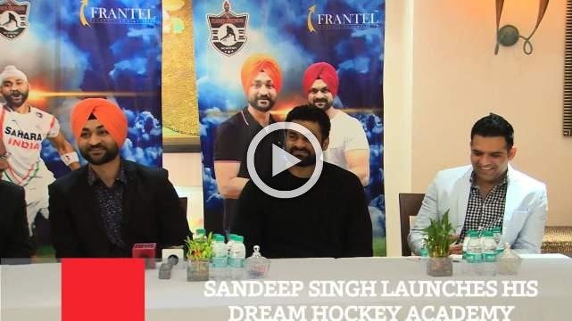 Sandeep Singh Launches His Dream Hockey Academy