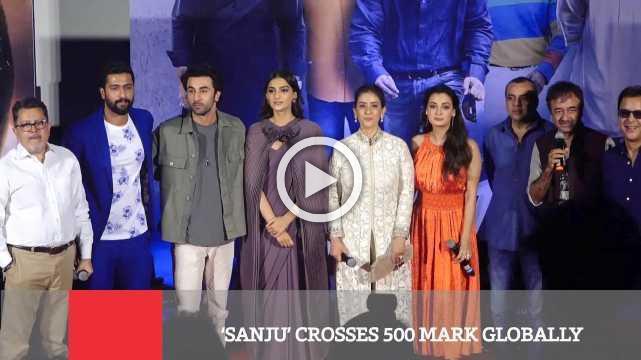 'Sanju' Crosses 500 Mark Globally
