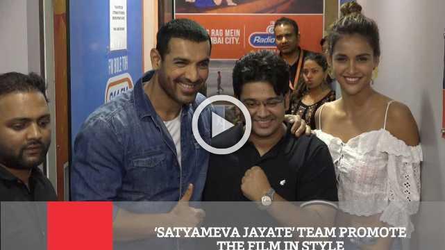 'Satyameva Jayate' Team Promote The Film In Style