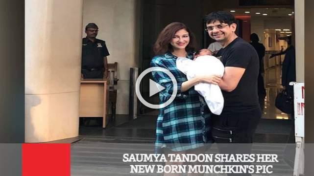 Saumya Tandon Shares Her New Born Munchkin's Pic