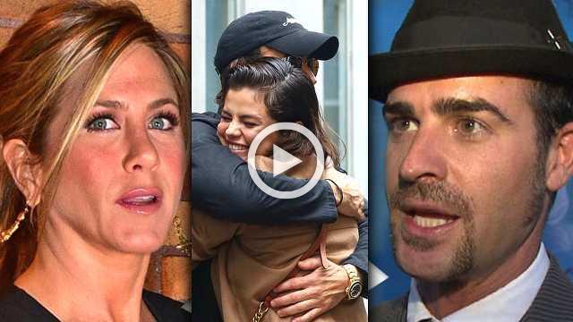 Selena Gomez Justin Theroux DATING, Jennifer Aniston FURIOUS