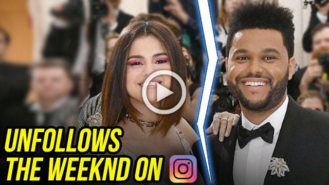 Selena Gomez Unfollows The Weeknd On Instagram After Kissing Justin Bieber in Public
