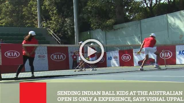 Sending Indian Ball Kids At The Australian Open Is Only A Experience, Says Vishal Uppal