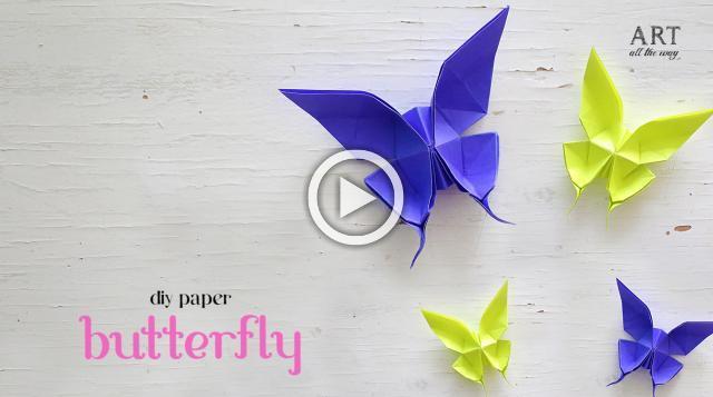 DIY Paper Butterfly