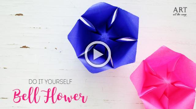 DIY Paper Bellflower