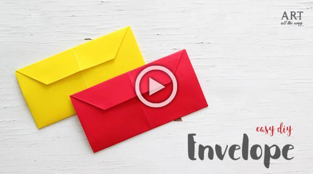 DIY Easy Origami Envelope