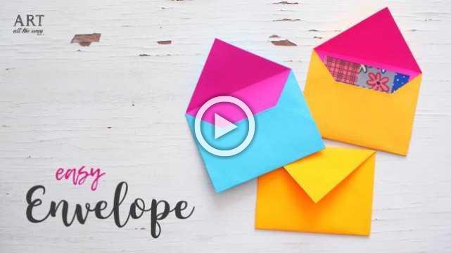 DIY Easy Paper Envelope Tutorial