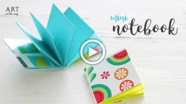 DIY Mini Notebooks | DIY Back To School