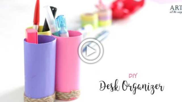 DIY Desk Organizer