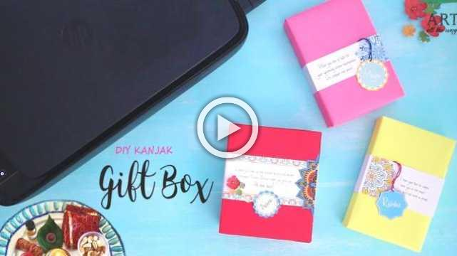 DIY Kanjak Gift Box | Handmade Gift Box
