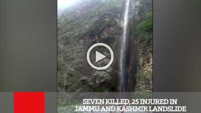 Seven Killed, 25 Injured In Jammu And Kashmir Landslide
